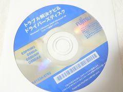 Fujitsu D582/G Win 8Pro �g���u�������i�r�����J�o���f�[�^disc