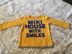 ミキハウス ロングTシャツ☆90