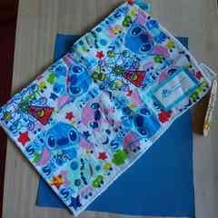 新品♪リロ&スティッチ♪雑巾(ループと記名タグ付き)♪未使用美品