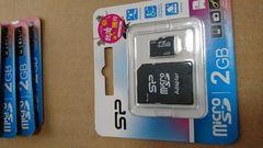 マイクロSDカード  2GB 新品未開封 カメラなど