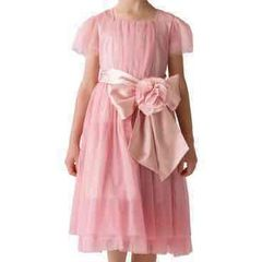 新品120cm☆ドレス☆コサージュつき