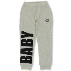 新品BABYDOLL☆ロゴ パンツ 130 グレー ベビードール