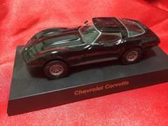 京商USAスポーツカーコレクションシボレーコルベット黒