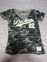 Dickies Tシャツ 美品 迷彩 ディッキーズ