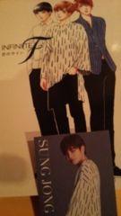 INFINITE Fデビュー曲/DVD付き。カード→ソンジョン