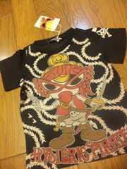 新品ヒスミニヒステリックパイレーツミニチャン黒半袖Tシャツ100�p