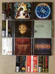 デフレパード 国内盤CD7枚セット まとめて 帯有り ベスト等 送料=360円