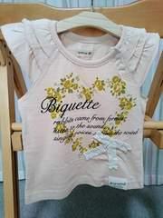 ラス1sale新品★Biquetteビケット★半袖Tシャツ★80cm