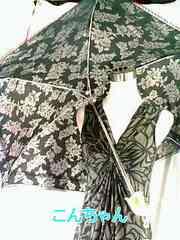 薔薇柄&レース晴雨兼用折り畳み式傘