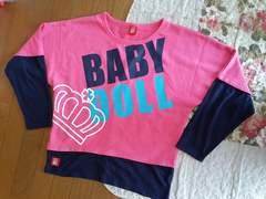 BABY DOLL トレーナー(o^O^o)
