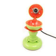 ☆可愛いりんご型WEBカメラ ウェブカメラ 130万〜300万画像