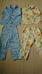 長袖パジャマ。100センチ。2枚セット