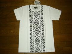 新品BALABUSHKAバラブシュカTシャツ1白バンダナ柄カットソー