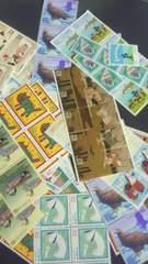 62円切手バラ100枚新品未使用品 ゆうパック発送用に  額面90〜 23