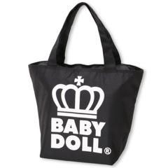 新品BABYDOLL☆ロゴ王冠 保冷トートバッグ 白 ベビードール