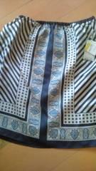 23区イタリア製シルク100%スカート新品