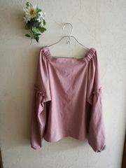 w closet ☆袖可愛いブラウスチュニック