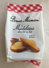 フランス☆ボンヌママン マドレーヌ ミルクチョコレート