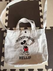 Mickey/xgirlバッグ