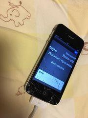 iPhone 4 16GB BK ジャンク 激安