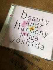 吉田美和・beauty and harmony.ドリカム・美品・CD.レア品