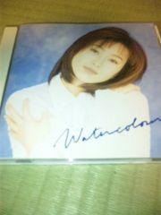 CD,酒井法子/ウォーターカラー  帯なし
