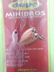 deps  MINIBROS  スピナ-ベイト (ピンクパ-ル)