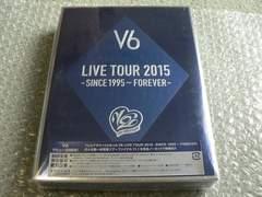 V6/LIVE TOUR 2015 -SINCE 1995〜FOREVER-【初回盤B】4DVD/新品