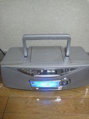 シャープ 1BIT CD・MDシステムオーディオ SD-FX10-Sリモコン有