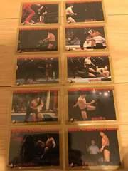 BBM98 プロレスカード  スペシャルカードセット アントニオ猪木