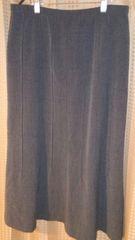 ダークグレーのスカート サイズ11