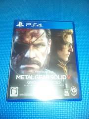 PS4「メタルギアソリッドV グラウンドゼロズ」METALGEARSOLID GROUND ZEROES