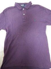 送料半額♪poloRaIphLauren紫にグリ-ン刺繍レアヽ(´▽`)/♪