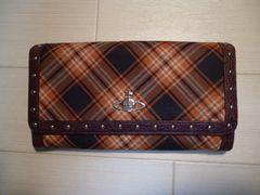 ヴィヴィアンウエストウッドの二つ折り長財布