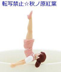 コップのフチ子4 ピーチ【首立ちのフチ子】ガチャポン フィギュア
