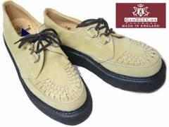ジョージコックス新品ラバーソール3588サンド スエード厚底靴9