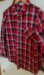 大きいサイズ/チェックシャツ