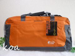 【新品】ボストンバッグ*カラー各種《20/オレンジ》