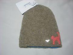 wb623 ROXY ロキシー リバーシブル モヘア ニット帽 カーキ