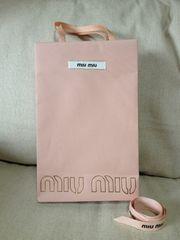miumiu☆ミュウミュウ☆紙袋&リボン