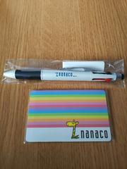 セブンイレブン非売品◆nanaco付箋とボールペンセット新品未使用未開封�@