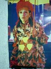 X JAPAN hide ポスター PSYENCE A GO GO 1996