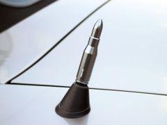 バレット/弾丸型 ラジオ アンテナ BMW Z4 E85/E86に ガンメタ