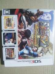 †送料無料3DSset デッドオアアライブ+スト4+鉄拳