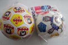 切手可!未使用【おもちゃのサッカーボール2個】くまモン