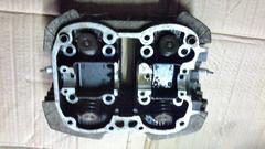 Z250FT シリンダーヘッド 部品取り 倉庫窓16F