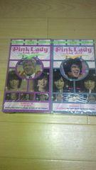 廃盤新品ビデオ!ピンクレディー「Pink Lady…And Jeff」2巻☆