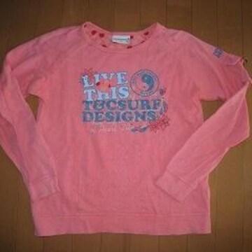 モバオクで買える「美品★T&C Surf Designs Hawaii 長袖Tシャツ♪150cm」の画像です。価格は120円になります。