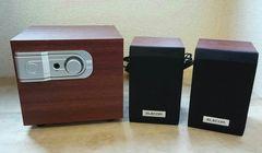 ELECOM(エレコム)小さい木のスピーカー超美品