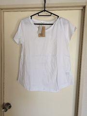ニコアンド!シルケット半袖TシャツSサイズ!ゆったり!新品